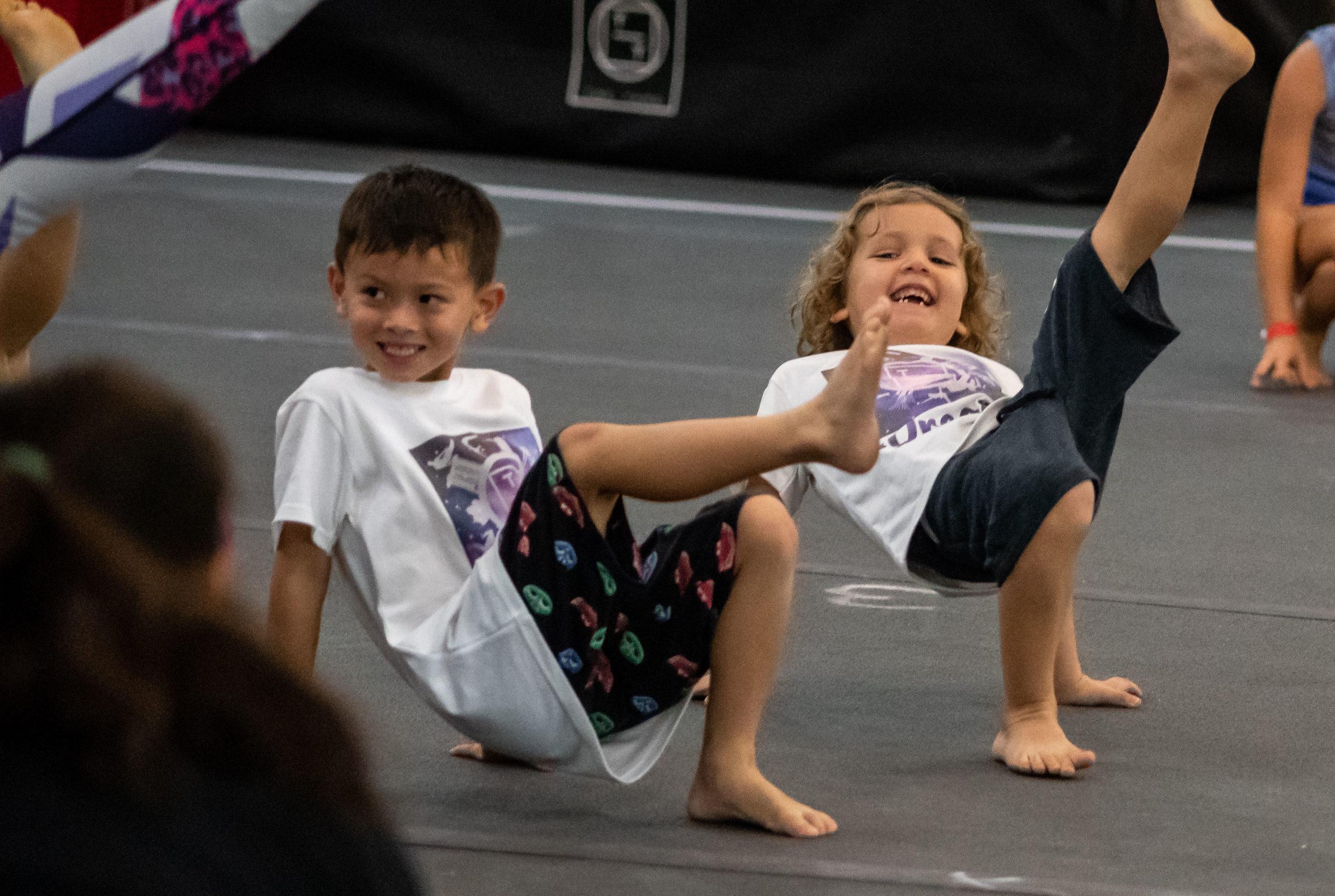 SeniorTumbling The Yard Singapore gymnastics classes
